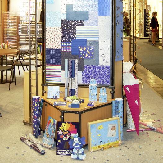 Firmengebäude, Ausstellungsraum